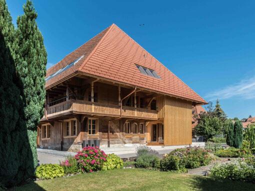 2018 Schnottwil – Umbau Bauernhaus