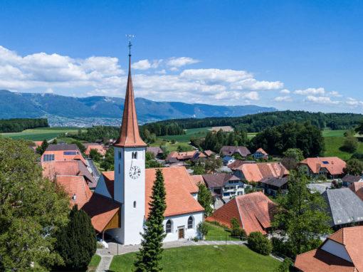 2019 Oberwil – Sanierung reformierte Kirche