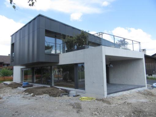 2016 Thun – Neubau-Projekt Einfamilienhaus