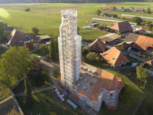 2018 Oberwil – Sanierung-Projekt reformierte Kirche