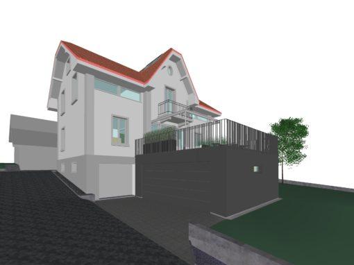 2017 Bettlach – Umbau-Projekt Einfamilienhaus
