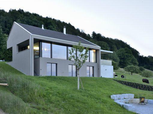 2013 Aetingen – Neubau Einfamilienhaus
