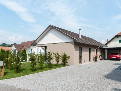 2015 Bibern – Neubau Einfamilienhaus