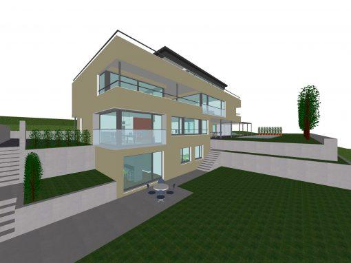 2008 Bolligen – Aufstockung-Projekt Wohnhaus