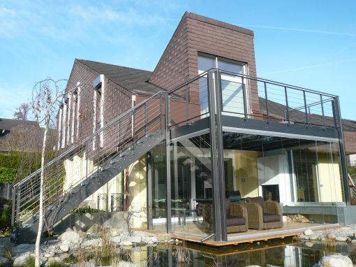 2011 Bremgarten – Sanierung Sitzplatzverglasung u. Balkon