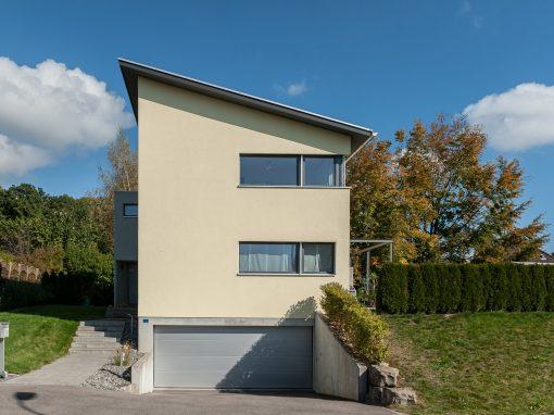 2012 Brügg – Neubau-Projekt Einfamilienhaus