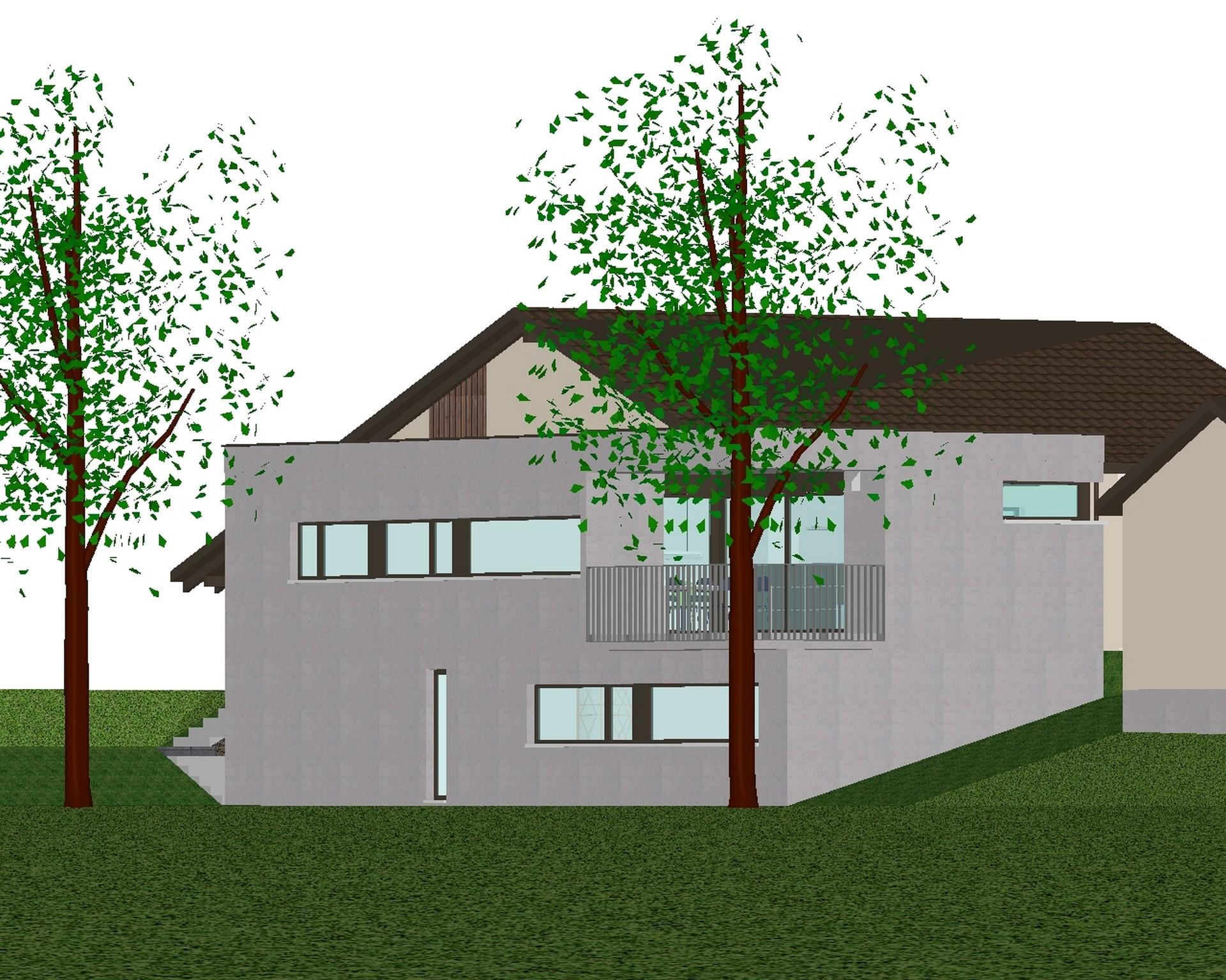2009 Büren an der Aare – Anbau-Projekt Einfamilienhaus