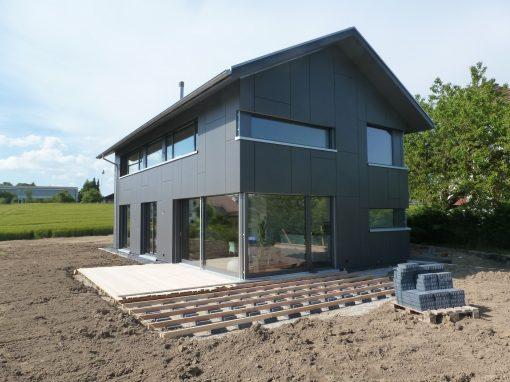 2013 Heinrichswil – Neubau Einfamilienhaus