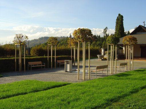 2004 Schnottwil – Neugestaltung Friedhofanlage