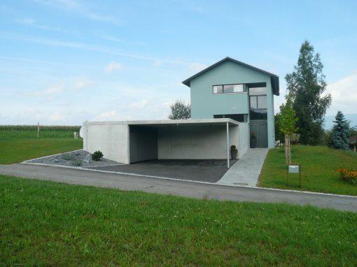2008 Schnottwil – Neubau Einfamilienhaus