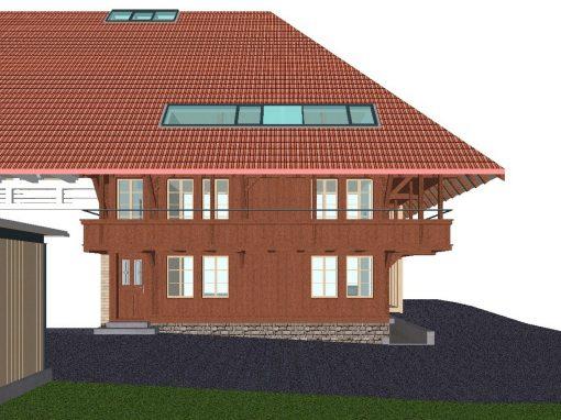 2016 Schnottwil – Umbau-Projekt Bauernhaus