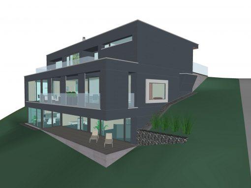 2016 Stettlen – Neubau-Projekt Einfamilienhaus