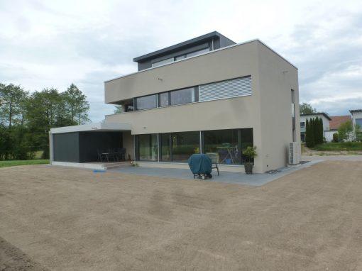 2015 Worben – Neubau Einfamilienhaus
